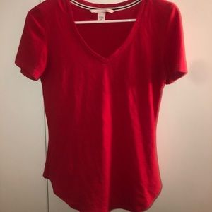Victoria Secret Red T shirt